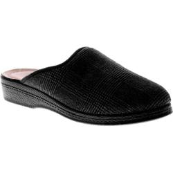 Men's Spring Step Linizio Black Textile