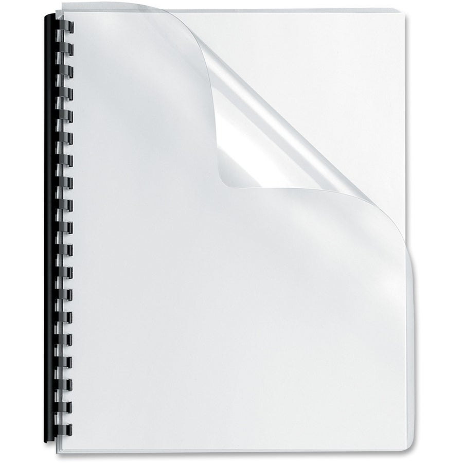 Fellowes Transparent PVC Covers - Oversize, 25 pack
