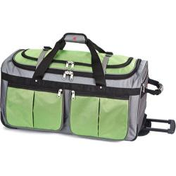 Athalon Grass Green 34-inch Rolling Duffel Bag