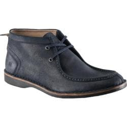 Men's Andrew Marc Dorchester Moc Seare Black Shoes