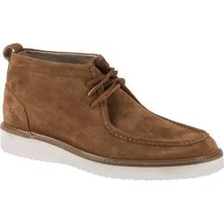 Andrew Marc Men's Haven Walnut/White/Dark Cymbal Suede Shoes