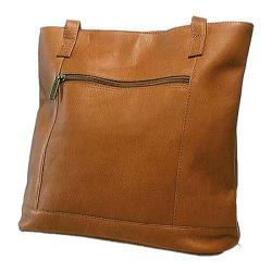 Women's David King Leather 1065 Shopper Tan