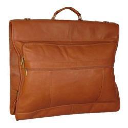 David King Leather 203 42in Garment Bag Tan