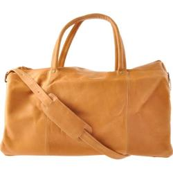 David King Leather 313 Classic Duffel Tan