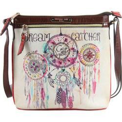 Women's Nicole Lee Dorothy Print Cross Body Bag Dream Catcher