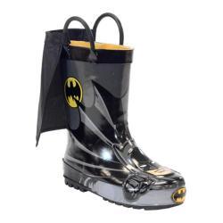 Boys' Western Chief Batman Everlasting Rain Boot Black