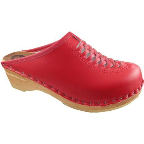 Women's Troentorp Bastad Clogs Wright Red