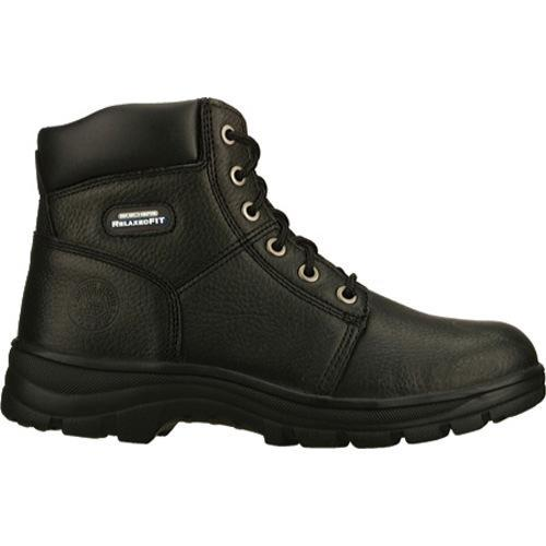 ... Men's Skechers Work Relaxed Fit Workshire Condor Black ...