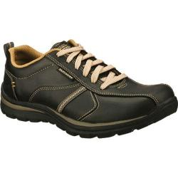 Men's Skechers Relaxed Fit Superior Levoy Black/Natural