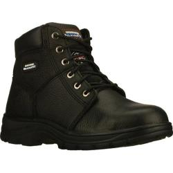 Skechers Men's Work Relaxed Fit Workshire ST Black