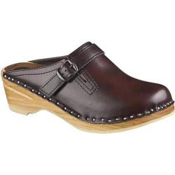 Women's Troentorp Bastad Clogs Raphael Black Cherry