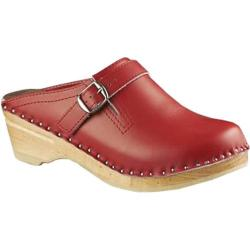 Women's Troentorp Bastad Clogs Raphael Red