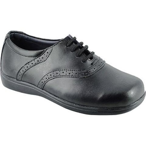 Girls' Josmo 6098 Black Leather Oxfords