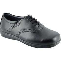 Girls' Josmo 6098 Black Leather Oxfords (More options available)