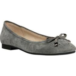Women's Propet Emma Pewter Suede