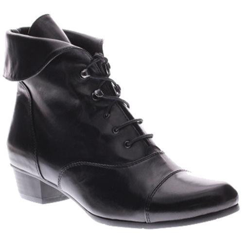 Women's Spring Step Galil Black Leather