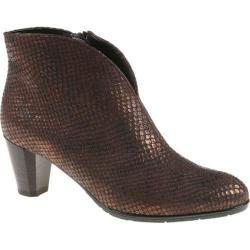 Women's ara Tricia 43408 Copper Snake Print Metallic