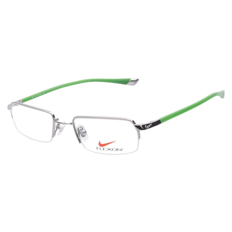 638c227834d Shop Nike 4174 045 Steel Prescription Eyeglasses - Free Shipping Today -  Overstock.com - 9364021