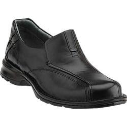 Men's Clarks Escalade Black Burnished Leather