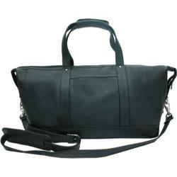 Piel Leather Medium Carry On Satchel 2379 Black Leather