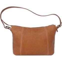 Women's Piel Leather Medium Shoulder Bag 2403 Saddle Leather