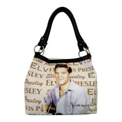 Women's Elvis Presley Signature Product Elvis Presley Medium Tote EL7813 Multicolored