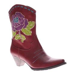 Women's L'Artiste by Spring Step Aster Red Leather