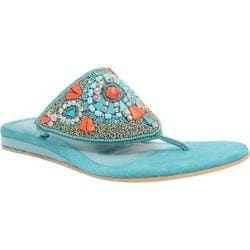 Women's J. Renee Talis Turquoise Leather