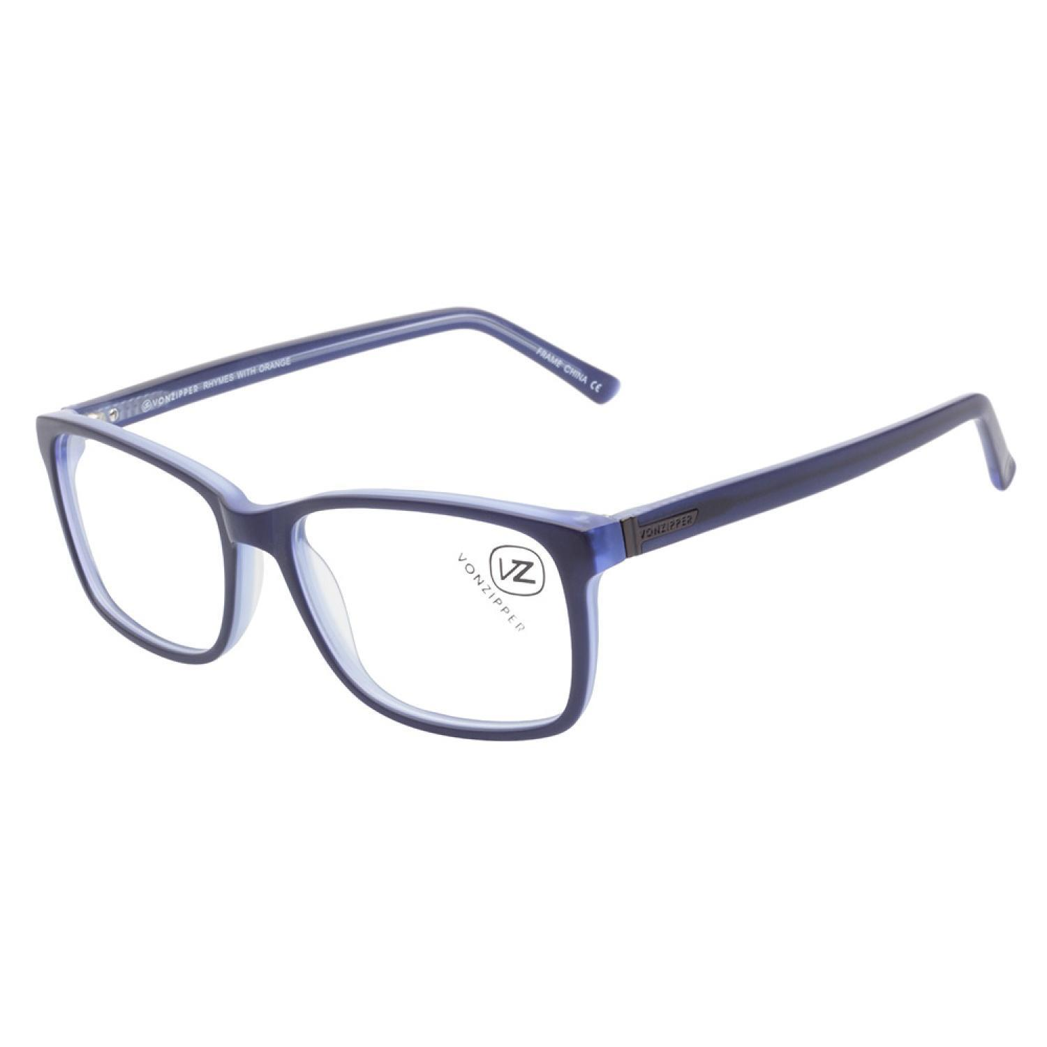 54440e334a Shop Vonzipper Rhymes With Orange NAV Navy Smoke Prescription Eyeglasses -  Free Shipping Today - Overstock.com - 9402114