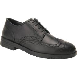 Men's Drew Clayton Black Smooth Leather