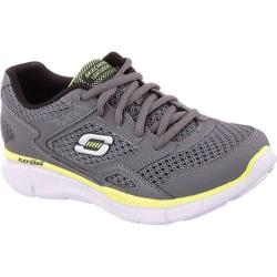 Boys' Skechers Equalizer Gray/Yellow