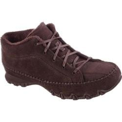 Women's Skechers Relaxed Fit Bikers Totem Pole Chocolate