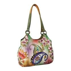 Women's Anuschka Triple Compartment Medium Satchel Jaipur Paisley
