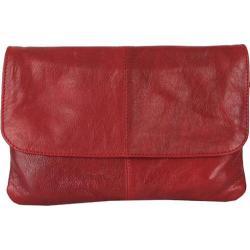Women's Latico Lidia Crossbody Bag 7981 Bordeaux Leather