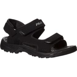 Men's Fila Transition Black/Black/Metallic Silver