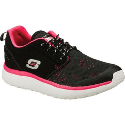 Shop Women s Skechers Counterpart Black Pink - Free Shipping Today ... 6f20263ca57b