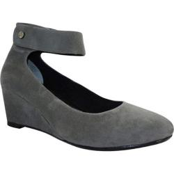 Women's J. Renee Melenne Dark Gray Suede