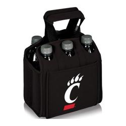 Picnic Time Six Pack Cincinnati Bearcats Black
