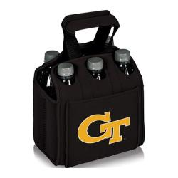 Picnic Time Six Pack Georgia Tech Yellow Jackets Black