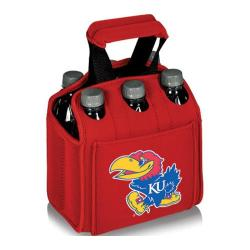 Picnic Time Six Pack Kansas Jayhawks Red