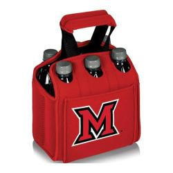 Picnic Time Six Pack Miami University Red Hawks Red