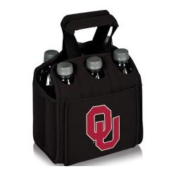 Picnic Time Six Pack Oklahoma Sooners Black