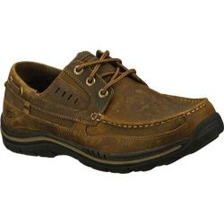 Men's Skechers Relaxed Fit Expected Gembel Dark Brown