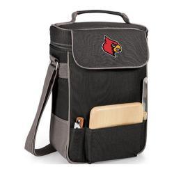Picnic Time Duet Louisville Cardinals Print Black/Grey