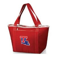 Picnic Time Topanga Louisiana Tech Bulldogs Print Red