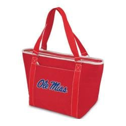 Picnic Time Topanga Mississippi Rebels Embroidered Red