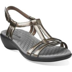 Women's Clarks Sonar Aster Pewter Synthetic