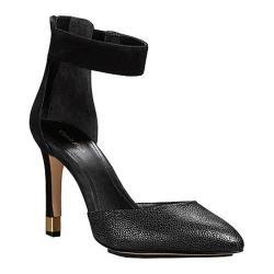 Women's Calvin Klein Tanda Black Matte Snake/Cow Kansas