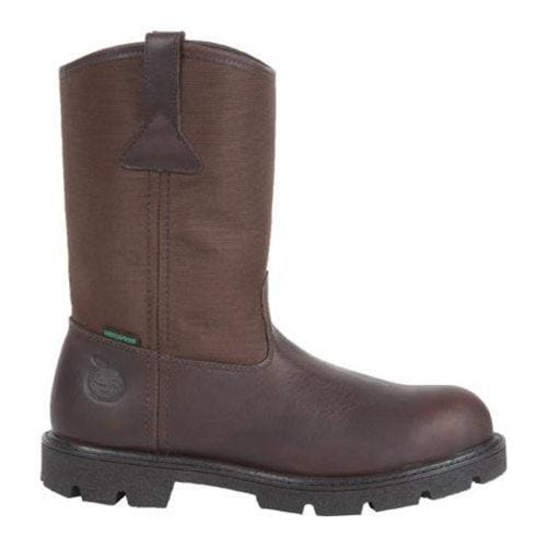 Men's Georgia Boot G113 11in Homeland Waterproof Wellington Brown Full  Grain Leather/Cordura - Free Shipping Today - Overstock.com - 16672594