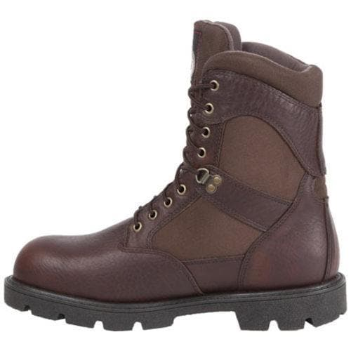 Men's Georgia Boot G109 8in Homeland WP Insulated Work Boot Brown Full  Grain Leather/Cordura - Free Shipping Today - Overstock.com - 16672591